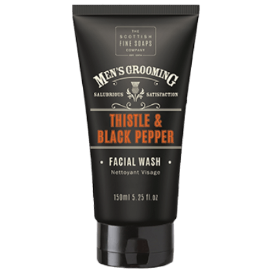 Men's Thistle & Black Pepper Facial Wash