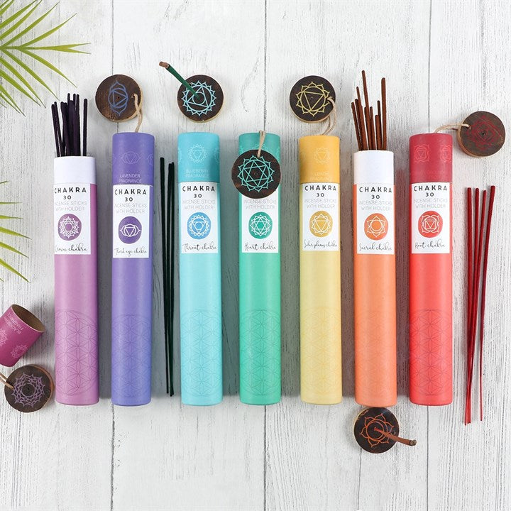 Throat Chakra Incense Sticks - Blueberry
