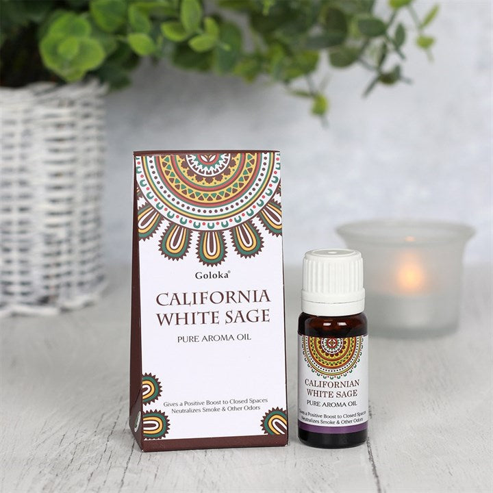 Goloka California White Sage Aromatherapy Oil 10ml