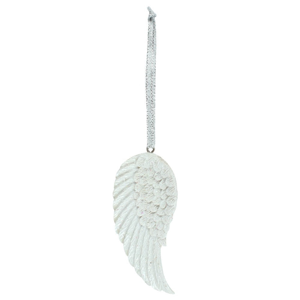 Glitter Angel Wing Decoration