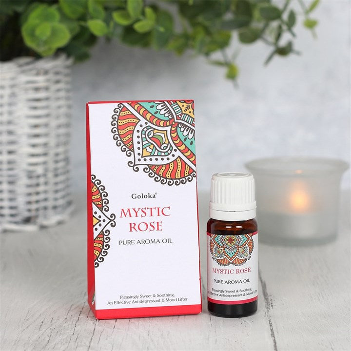 Goloka Mystic Rose Aromatherapy Oil 10ml