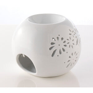 Rounded Ceramic Oil Burner