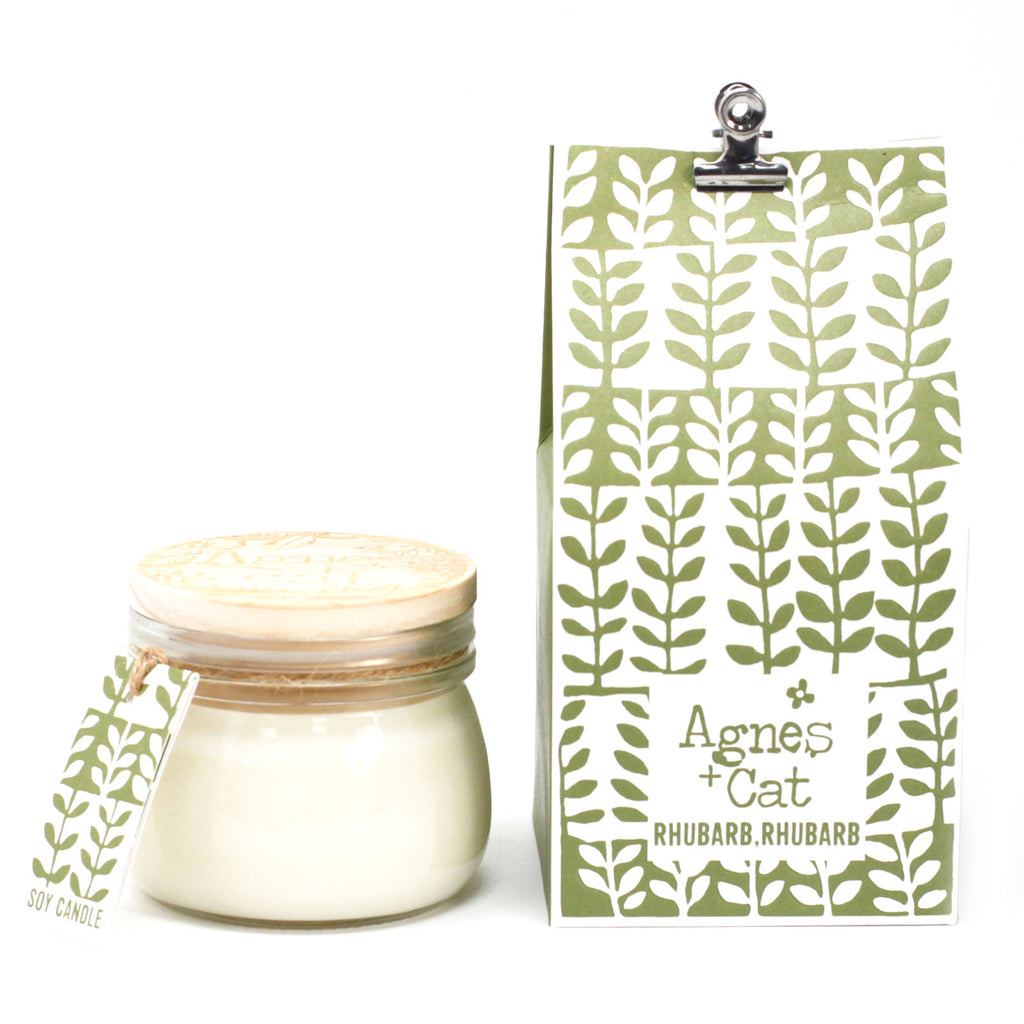 Natural Soy Wax Glass Jar Candle