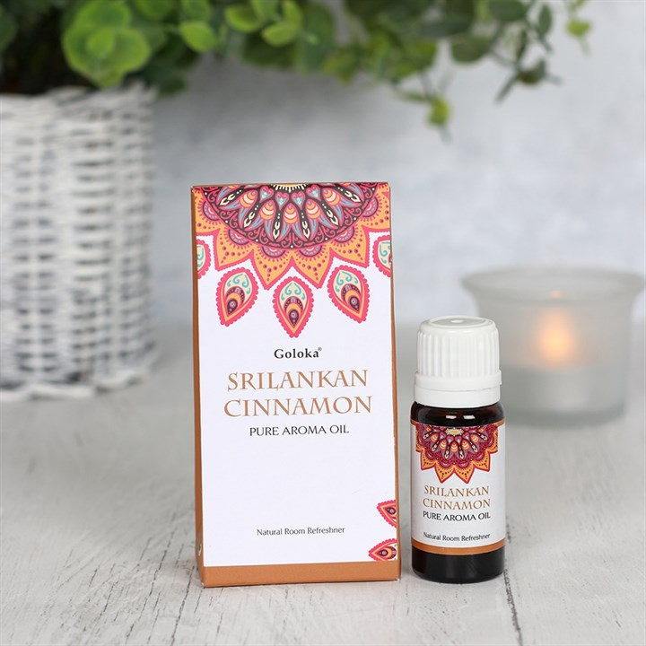 Goloka Sri Lankan Cinnamon Aromatherapy Oil 10ml
