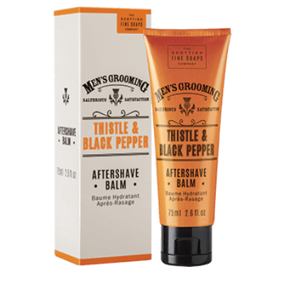 Thistle & Black Pepper Aftershave Balm - 75ml