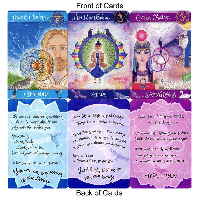 Chakra Cards for Belief Change - Nikki Gresham-Record