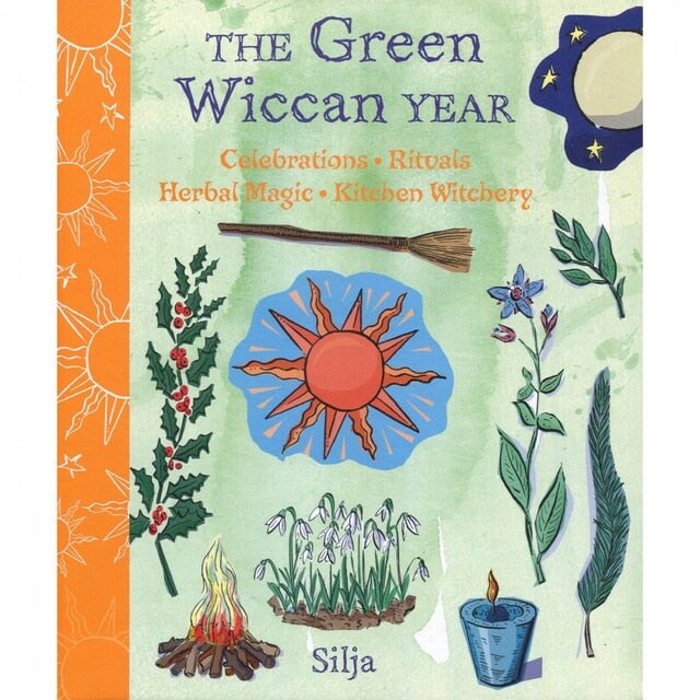 The Green Wiccan Year - Silja