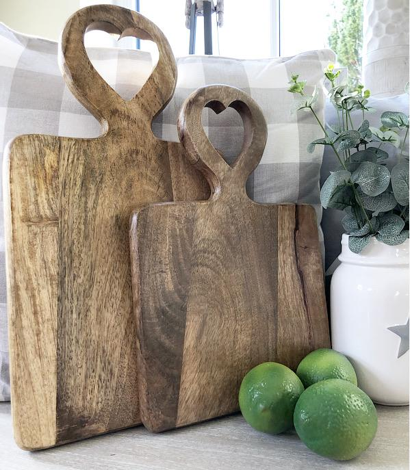 Heart Cut-out Chopping Board