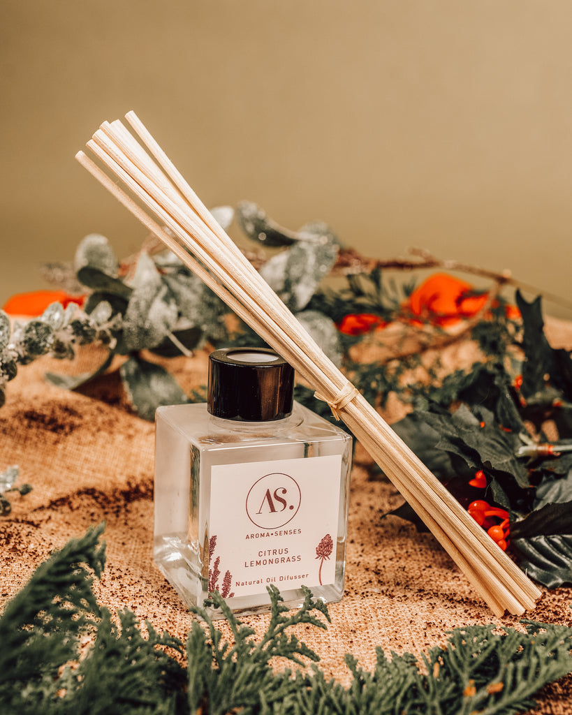 Festive Natural Essential Oils Reed Diffuser