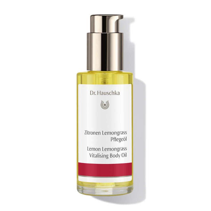 Dr. Hasuchka Lemon Lemongrass Vitalising Body Oil (75ml)