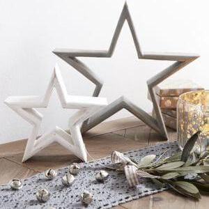 Small Wooden Star Duo