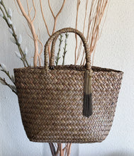 Load image into Gallery viewer, Summery Mini Rattan Bag- Tassel  Charm