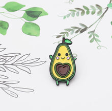 Load image into Gallery viewer, Super Cute Avocado Pin