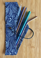 Load image into Gallery viewer, Stainless Steel Drinking Straws Set