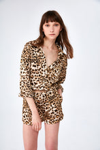 Load image into Gallery viewer, Leopard-Print PJ Set