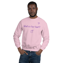 "Load image into Gallery viewer, Pink ""Hearts Aloft"" Unisex Sweatshirt"