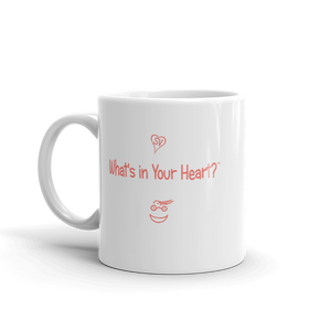 """Heart Full of Virtues"" Coffee Mug"
