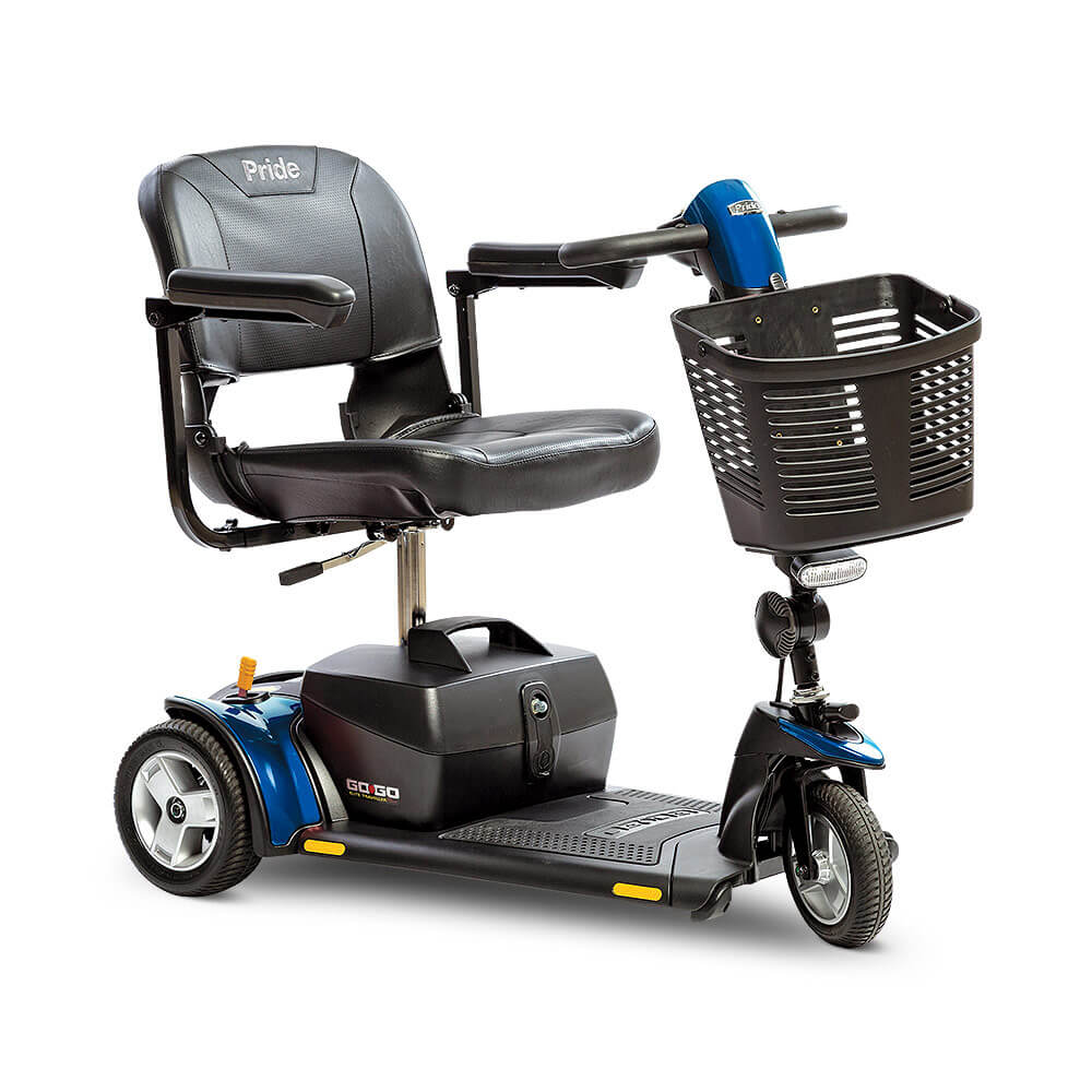 Pride® Go-Go Elite Traveller Plus 3-Wheel   FDA Class II Medical Device*