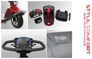 Pride® Victory 10 3-Wheel  FDA Class II Medical Device*