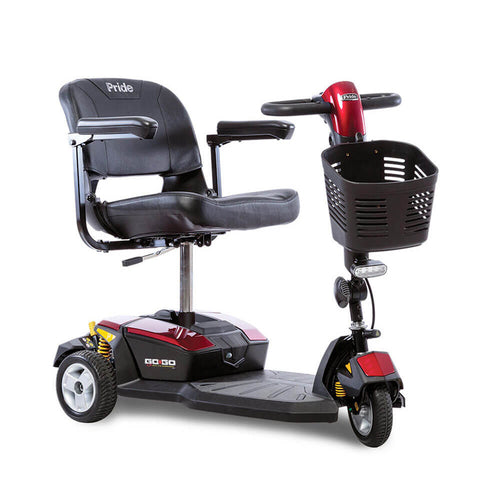 Pride® Go-Go LX w/CTS Suspension 3-Wheel