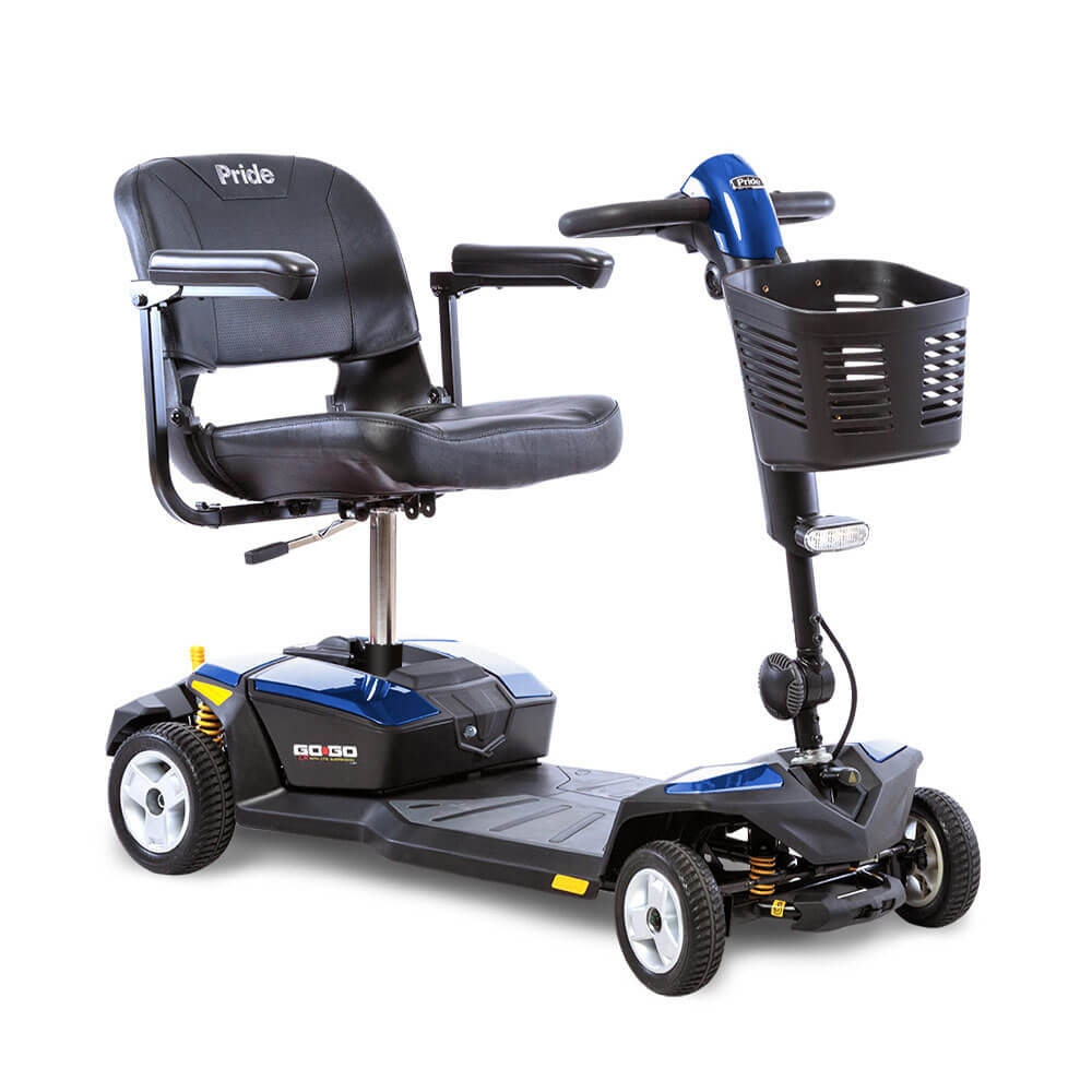 Pride® Go-Go LX w/CTS Suspension 4-Wheel