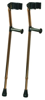 Lumex Deluxe Ortho Forearm Crutches