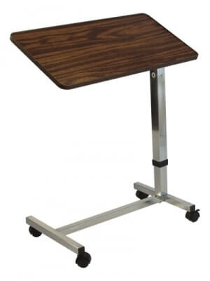 Lumex Deluxe Tilt Overbed Table