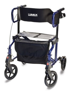 Lumex Hybrid LX Rollator Transport Chair