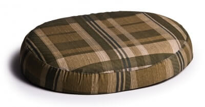 Lumex Ring Cushion - Green Plaid