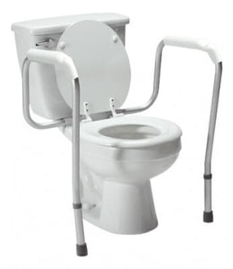 Lumex Versaframe Toilet Safety Rail, Adjustable Height