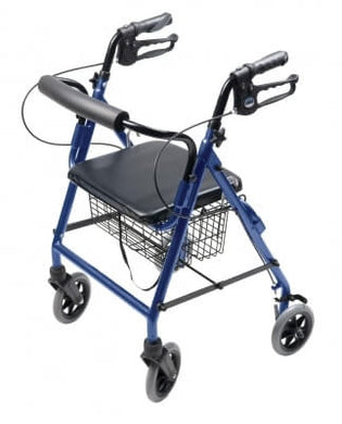 Lumex Walkabout Four-Wheel Hemi Rollator