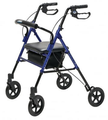 Set n' Go Wide Height Adjustable Rollator