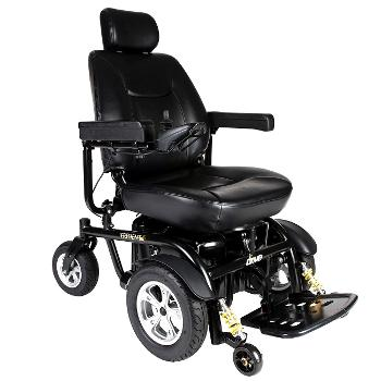 Trident HD Heavy Duty Power Chair, 24