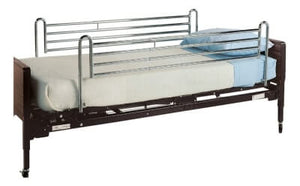 Universal Telescoping Side Bed Rail, Chrome