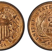 US Two Cent Coins