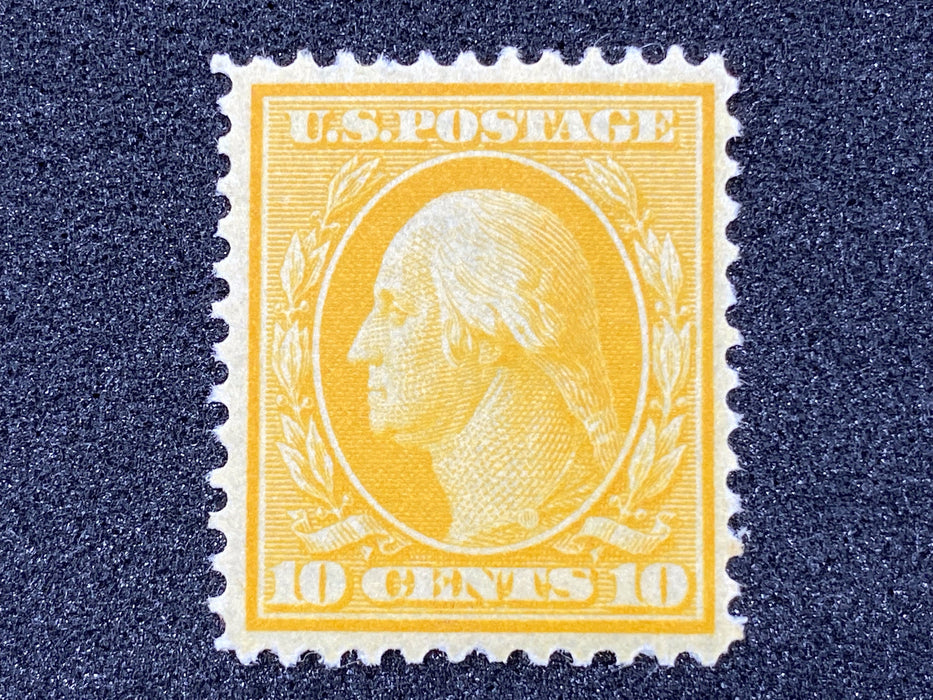 #338 Mint Brilliant color. VF/XF NH