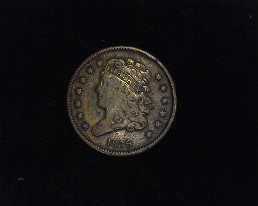 1835 Classic Head F/VF Obverse - US Coin - Huntington Stamp and Coin