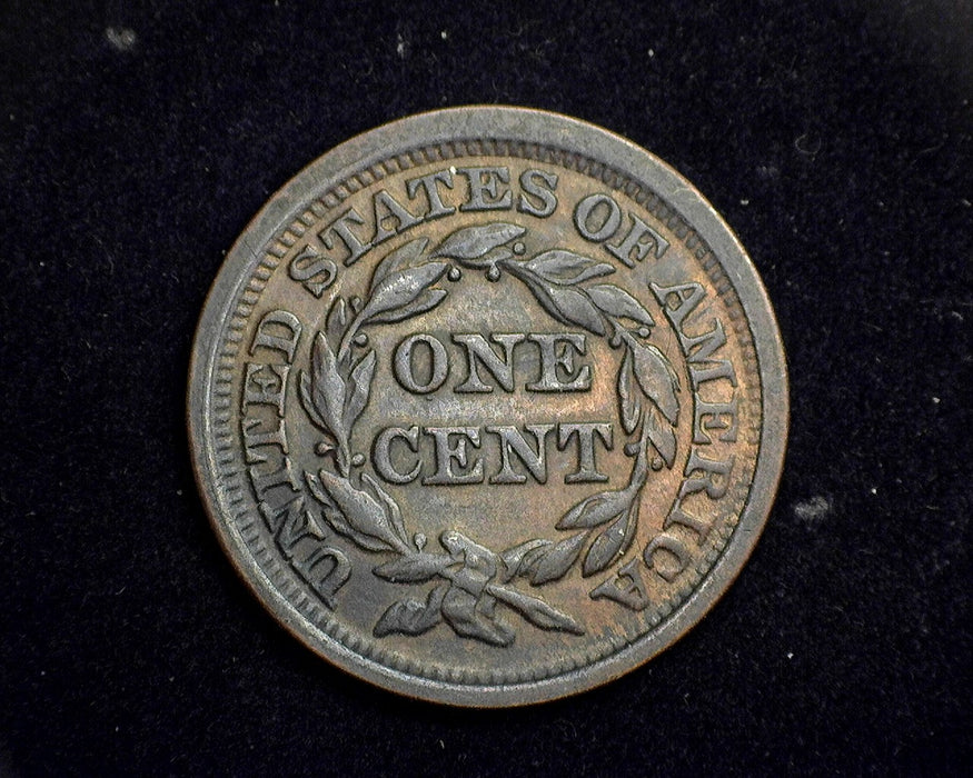 1848 Braided Hair Large Cent XF - US Coin