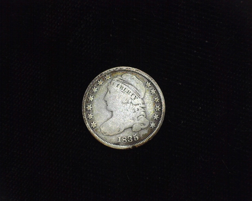 1835 Capped Bust VG Obverse - US Coin - Huntington Stamp and Coin