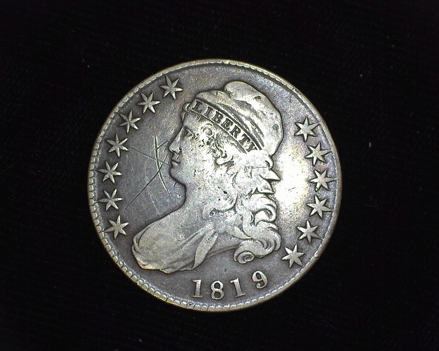 1819 Capped Bust F Obverse - US Coin - Huntington Stamp and Coin