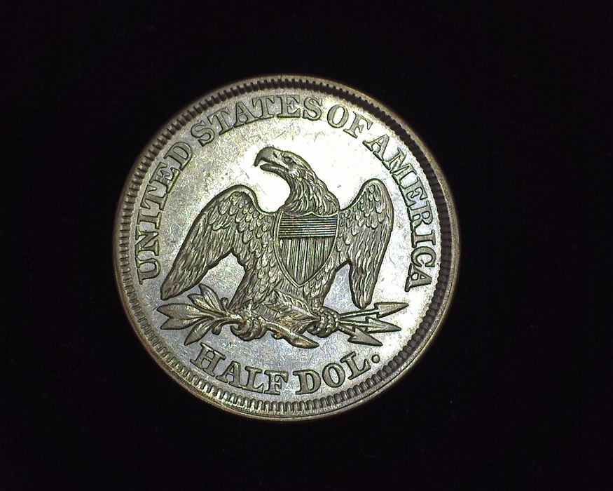 1849 Liberty Seated AU Reverse - US Coin - Huntington Stamp and Coin