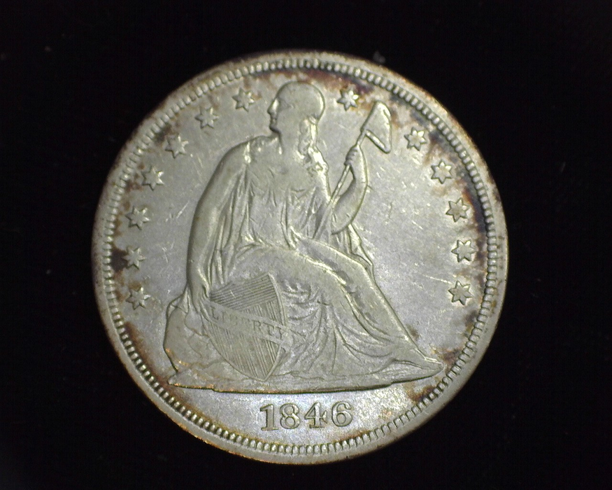 1846 Liberty Seated F Obverse - US Coin - Huntington Stamp and Coin