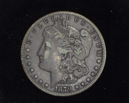 1879 CC Morgan XF Obverse - US Coin - Huntington Stamp and Coin