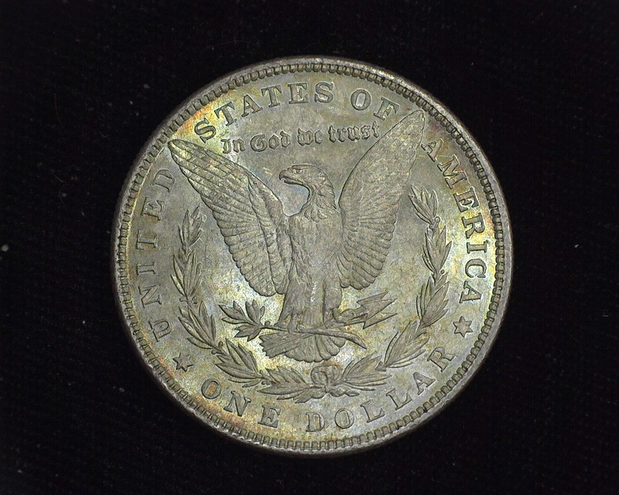 1880 Morgan BU MS-64 Reverse - US Coin - Huntington Stamp and Coin
