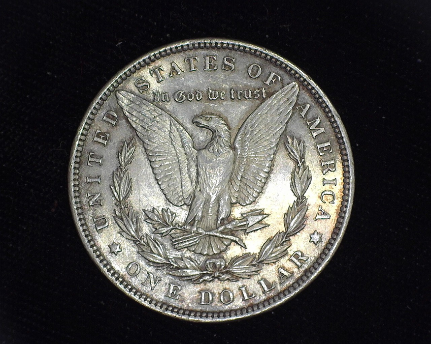 1893 Morgan UNC MS-60 Reverse - US Coin - Huntington Stamp and Coin