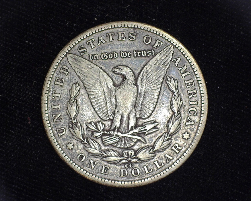 1893 CC Morgan VF Reverse - US Coin - Huntington Stamp and Coin