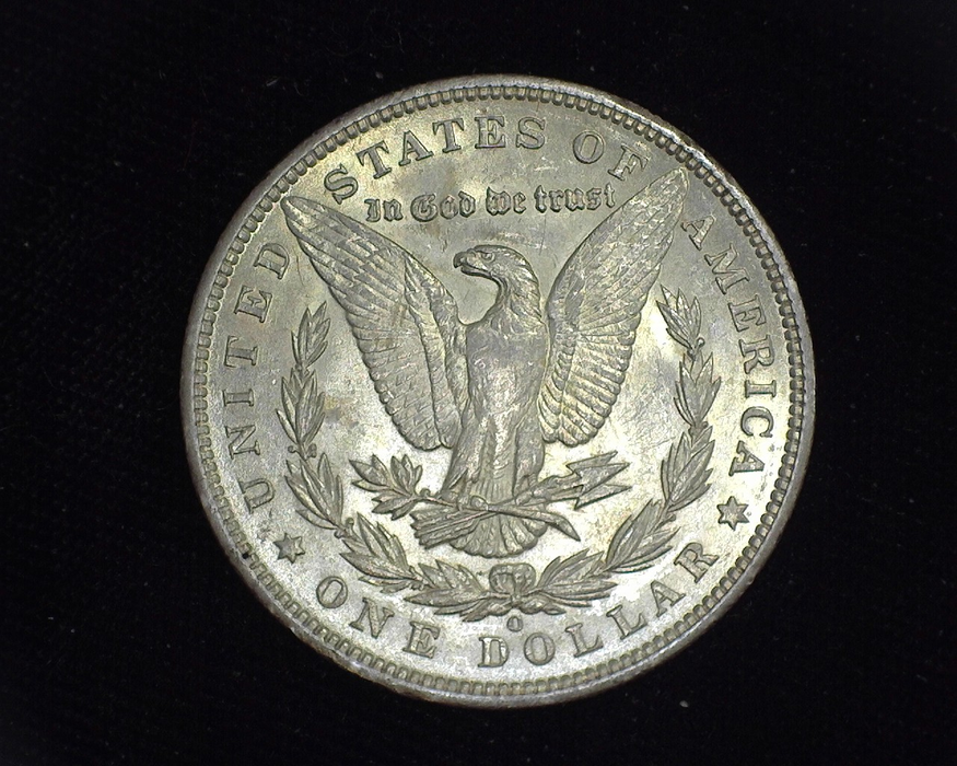 1894 O Morgan AU Reverse - US Coin - Huntington Stamp and Coin