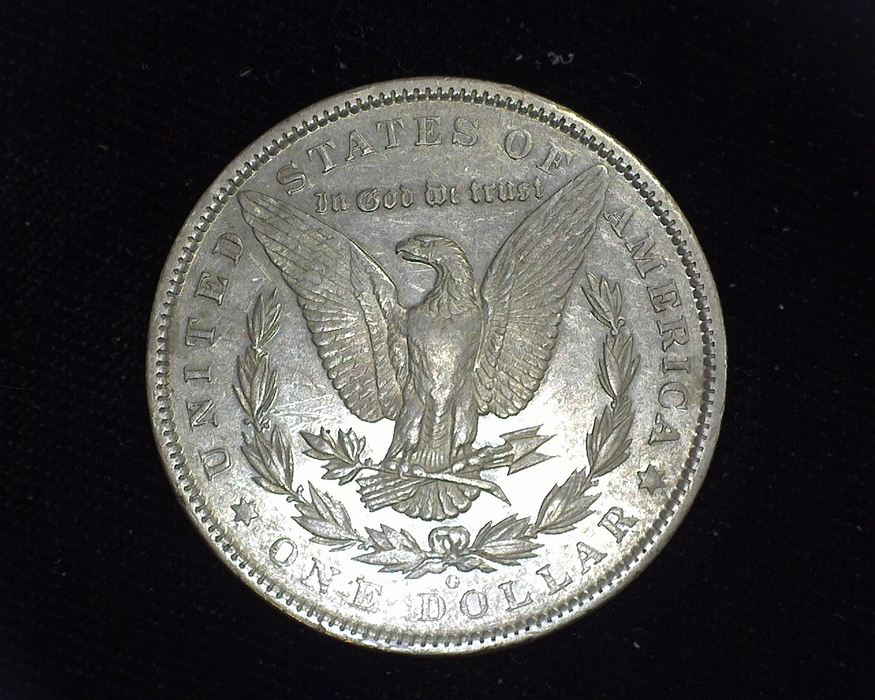 1895 O Morgan XF/AU Reverse - US Coin - Huntington Stamp and Coin