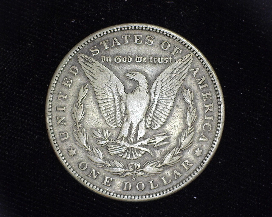 1895 S Morgan VF Reverse - US Coin - Huntington Stamp and Coin