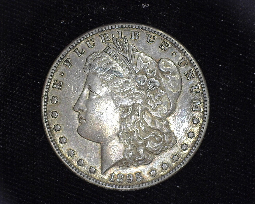 1895 S Morgan XF Obverse - US Coin - Huntington Stamp and Coin
